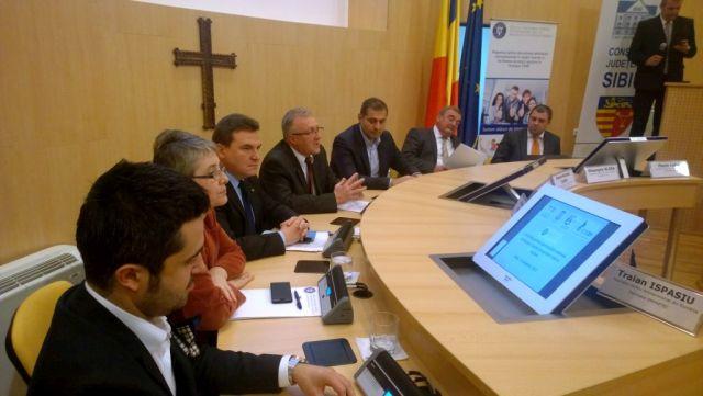 Autoritatile sibiene au prezentat oportunitatile de finantare pentru intreprinderile mici si mijlocii!
