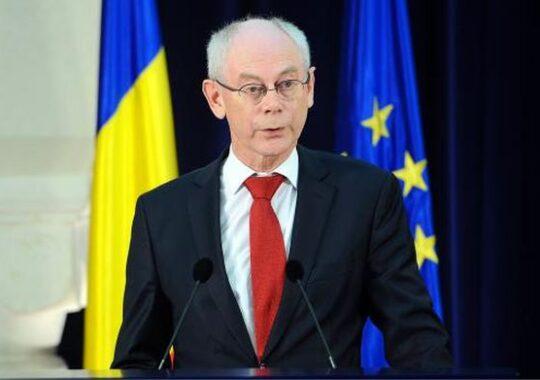 MESAJUL lui Herman Van Rompuy pentru noul presedinte al Romaniei, KLAUS IOHANNIS!