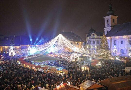 Sibiul, din nou in topul oraselor de vizitat in 2017
