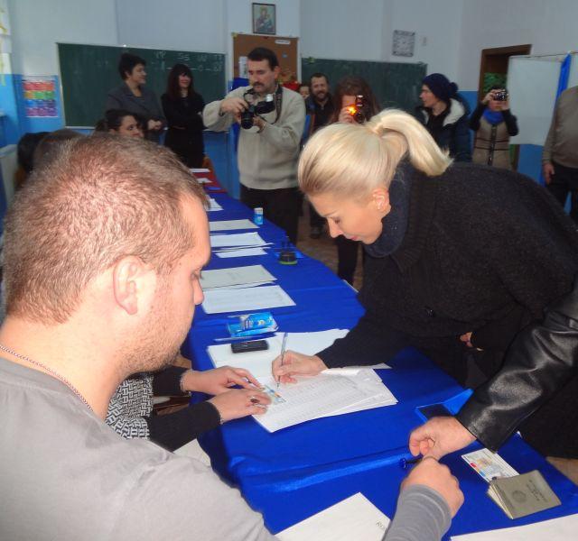 Raluca Turcan: Am votat pentru o Romanie a celor multi!