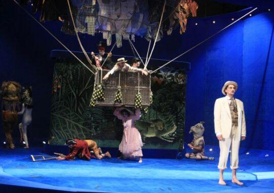 Teatrul National Radu Stanca Sibiu readuce publicului sibian spectacolul INSULA!