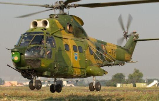 Un elicopter militar s-a prabusit la limita dintre judetele Sibiu si Mures!