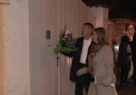 Petrecere acasa la Presedintele Iohannis. Prima doamna a pregatit cina
