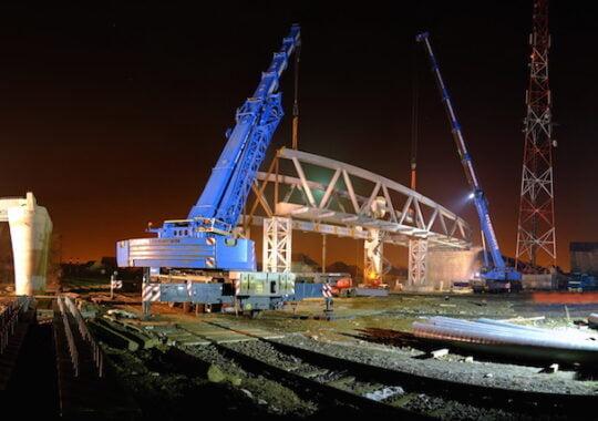 Viaductul Mihail Kogalniceanu prinde forma. Vezi cum arata acum