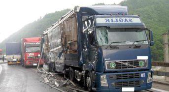 Trafic restrictionat pe Valea Oltului, in urma unui accident!
