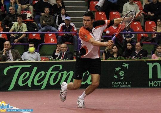 Se vand bilete pentru meciul de Cupa Davis Romania-Israel, de la Sibiu. Vezi cat costa