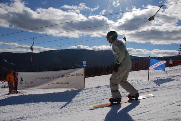 cupa ulb sibiu la schi 2015
