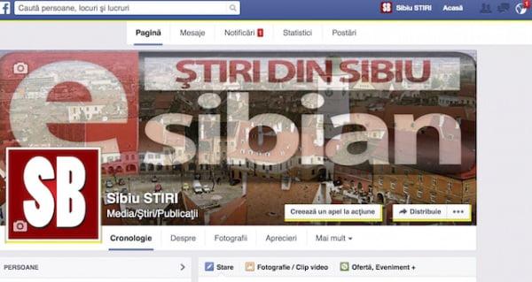 Sibiu STIRI facebook