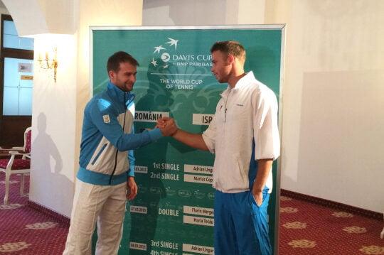 Ungur si Bar Botzer deschid Cupa Davis de la Sibiu
