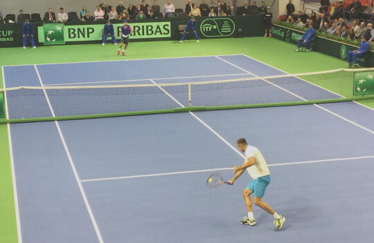 Cuplul Mergea/Tecau poate aduce victoria Romaniei in Cupa Davis. Sub privirile lui Klaus Iohannis