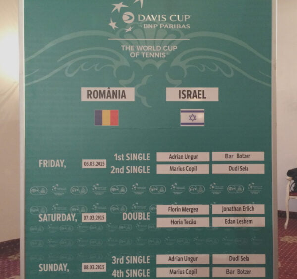 romania - israel tenis