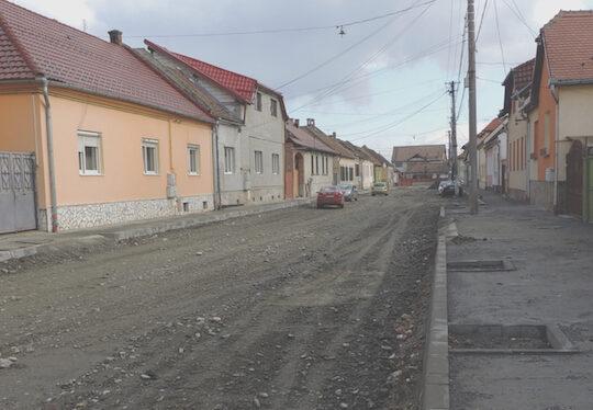 Pe ce strada stai? Inca opt strazi din Sibiu intra in proces de modernizare