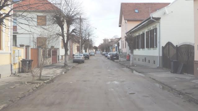 Primaria  Sibiu deschide inca un santier. Strada Timisoara intra in proces de modernizare