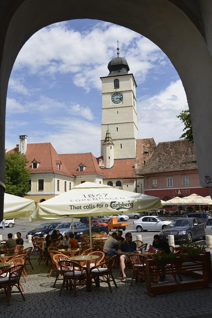 Mai mulți turiști au vizitat Sibiul în 2015