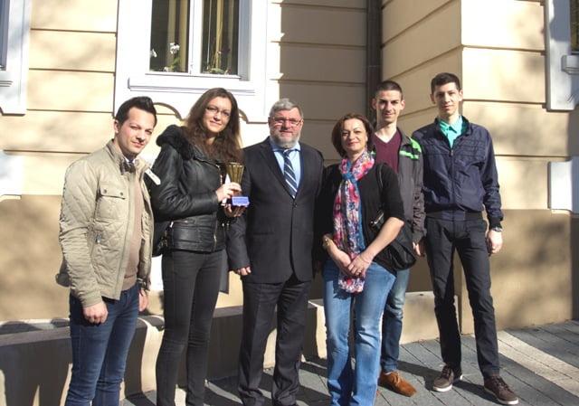 "Un nou premiu pentru studentii Universitatii ""Lucian Blaga"" din Sibiu. Locul trei la un concurs international, in Italia"
