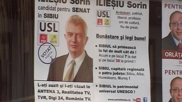 """Senatorul de Sibiu Sorin Iliesiu a trecut la """"partidul istoric PSD"""". Liberalii: """"De azi, penibilul poarta un nume: numele dumneavoastra"""""""