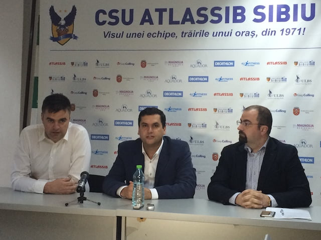 Antrenor si conducere noi la CSU Sibiu un singur tel: Sa reinvie spiritul baschetului sibian