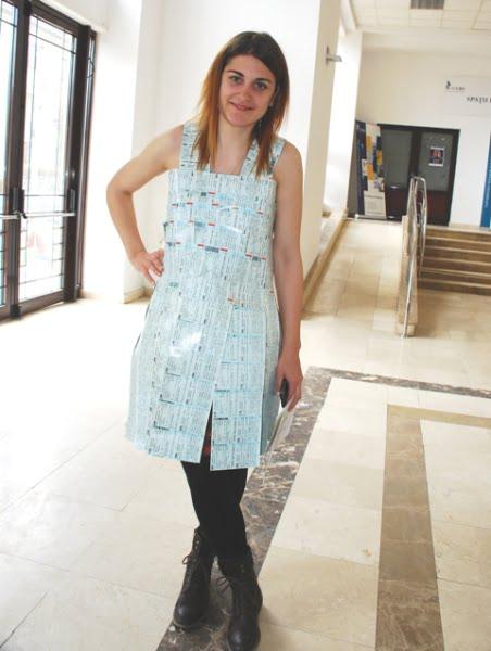 rochia din bilete de tren