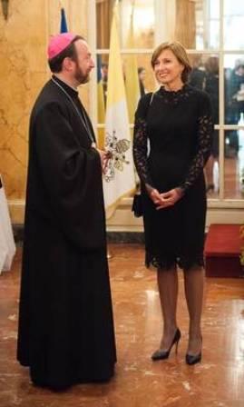carmen iohannis la Vatican1
