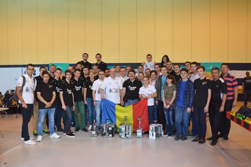 Echipele ULBS, cel mai bun rezultat din istoria participarilor la Campionatul European de Robotica