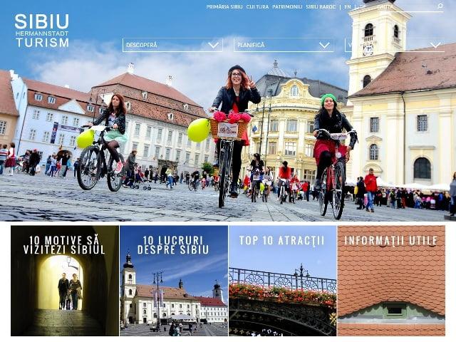 Sibiul are un nou site de promovare turistica: www.turism.sibiu.ro