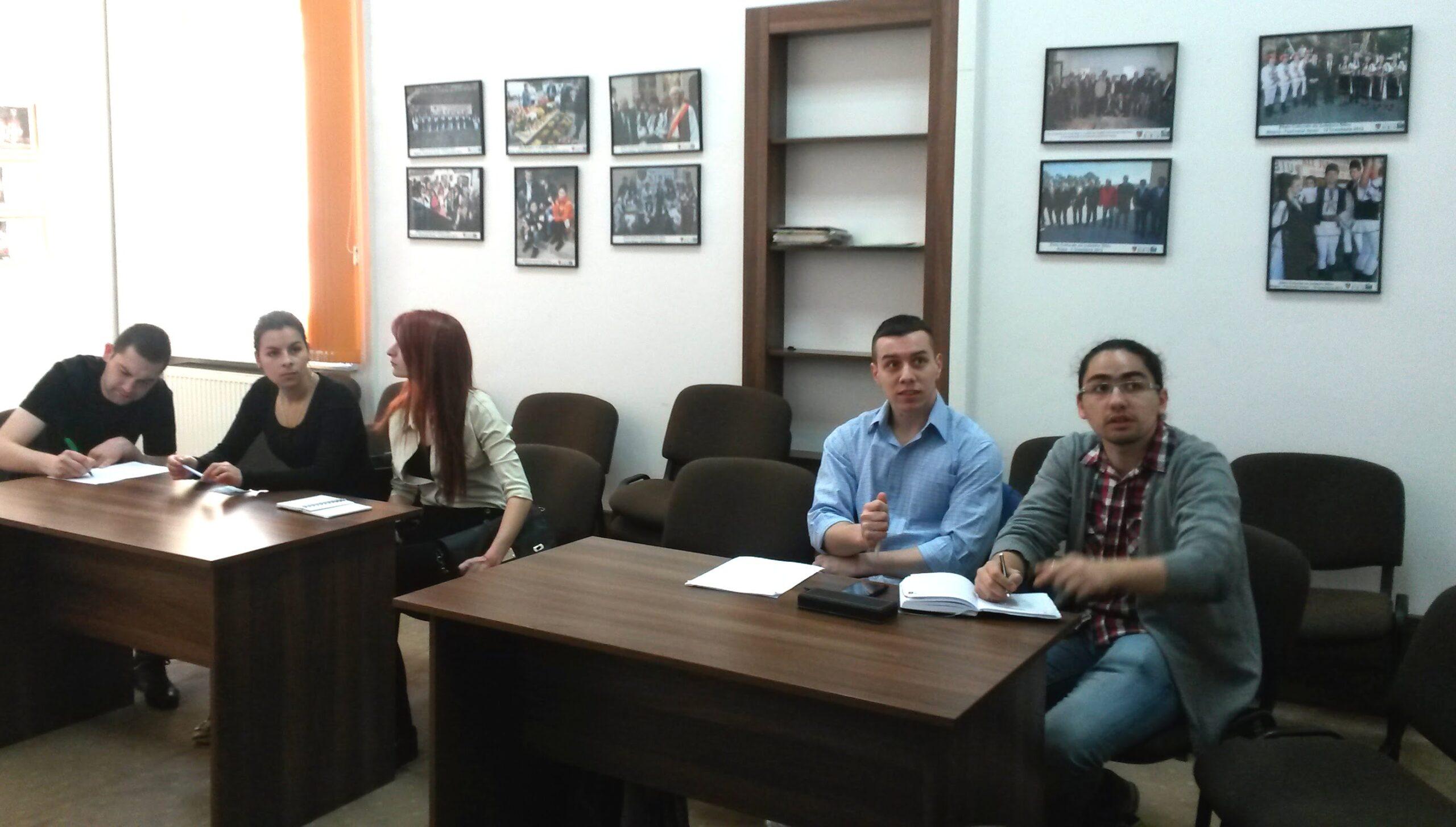 Studenti de la Stiinte Economice fac practica la Consiliul Judetean Sibiu