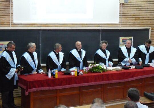 """Profesor sibian, Doctor Honoris Causa al Universitatii """"Dunarea de Jos""""din Galati"""
