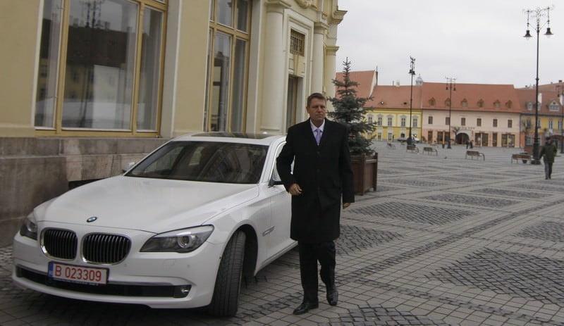 Iohannis schimba marca de masina. Va folosi un rival al BMW
