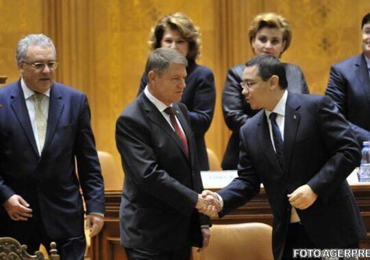 Iohannis, surclasat de Ponta. La ce spun americanii ca premierul de de doua ori mai bun decat presedintele