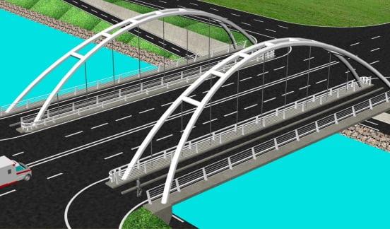 podul peste cibin sibiu