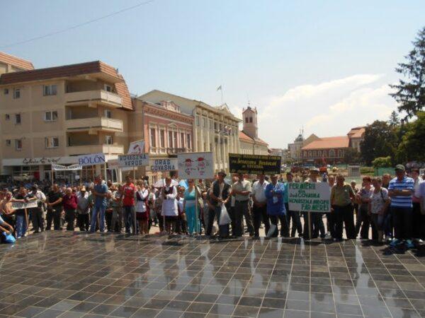 protest fermieri sibieni la covasna