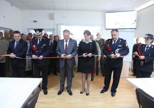 CJ Sibiu a inaugurat Centrul judetean pentru coordonarea situatiilor de urgenta