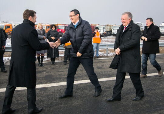 "Autostrada demolata ""a lui Ponta"" se redeschide"