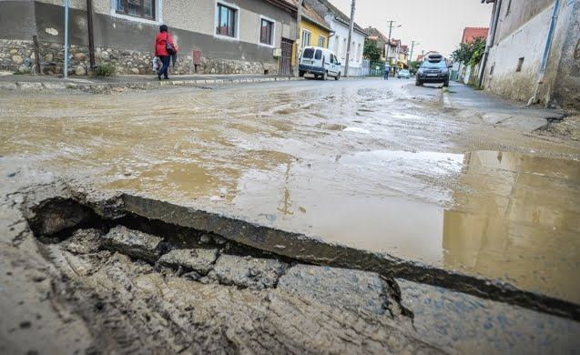 Cea mai proasta strada din Sibiu intra in reparatii. Plus alte patru