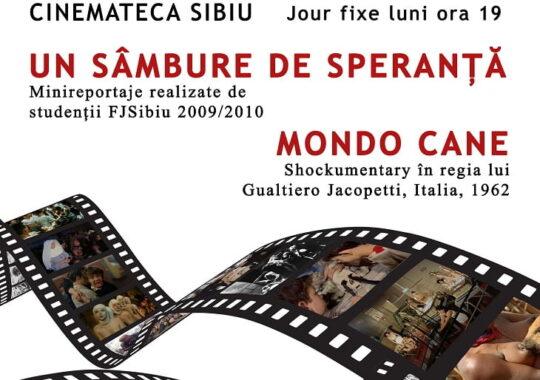 """""""Cinemateca """" Sibiu- proiectie de filme"""