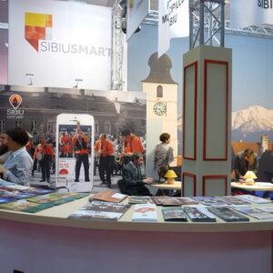1Sibiul paricipă la târgul de turism al României