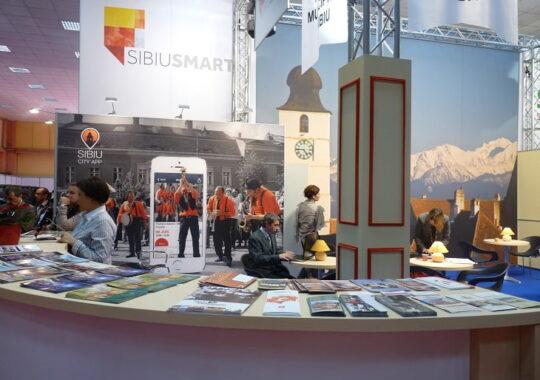 Sibiul participă la Târgul de Turism al României