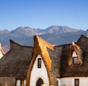 Castelul din basme, Porumbacu de Sus