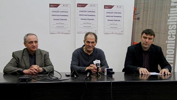 Conferinta Sala Thalia, Ioan Bojin, Cristian Mandeal, concert simfonic