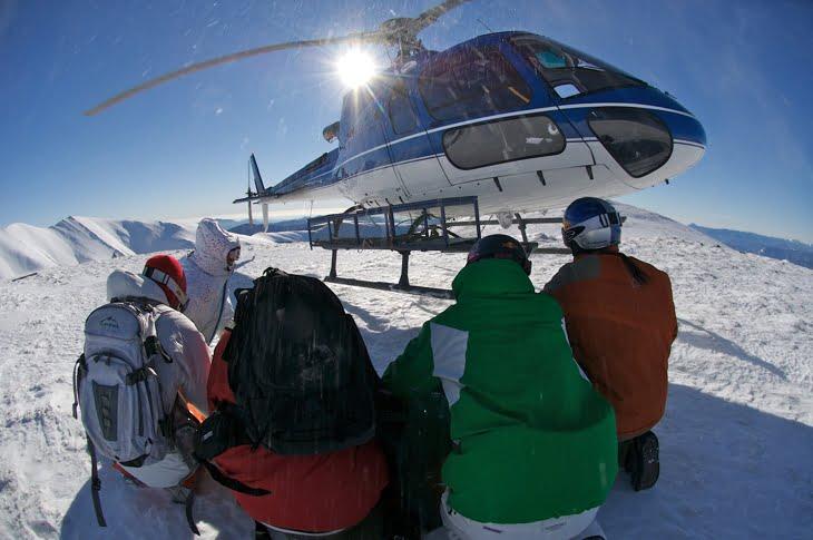 Heli ski la balea lac