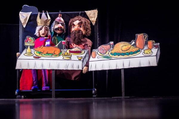 Sarea in bucate-Teatrul Gong, pe scena din Spania (1)