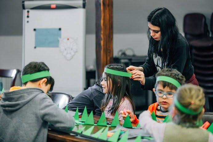 Ateliere de creatie pentru copii, dedicate vacantei si Zilei Brancusi