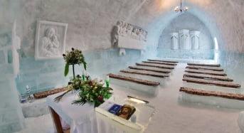 Biserica de gheata din judetul Sibiu, sfintita la peste 2.000 de metri altitudine
