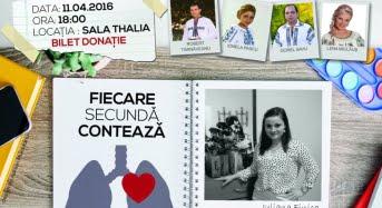 Studentii jurnalisti, spectacol caritabil pentru a salva viata unei colege