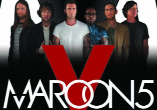 MAROON 5 prima dată în România!
