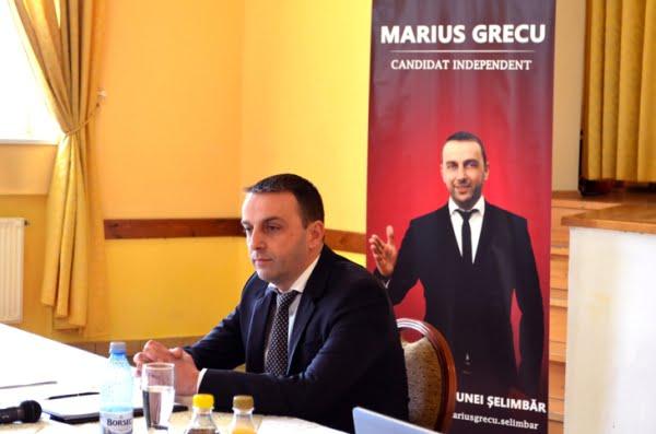 Marius Grecu - candidat Selimbar
