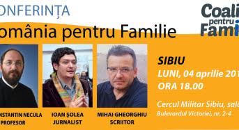 Romania pentru Familie la Sibiu