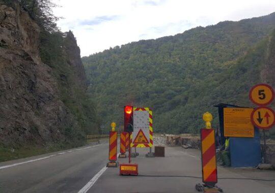 CNADNR inchide traficul pe Valea Oltului. Vezi intervalul in care nu se va putea circula