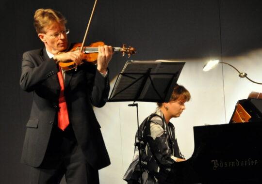 Recitaluri exceptionale la Sala Thalia. Concertmaestrul filarmonicii din Viena si pianista Catalina Butcaru vin la Sibiu