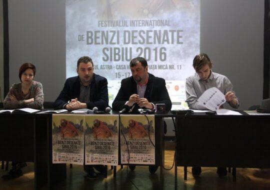 Cel mai mare festival de benzi desenate, incepe la Sibiu